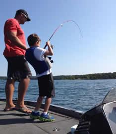 Taking Kids Fishing on Table Rock Lake