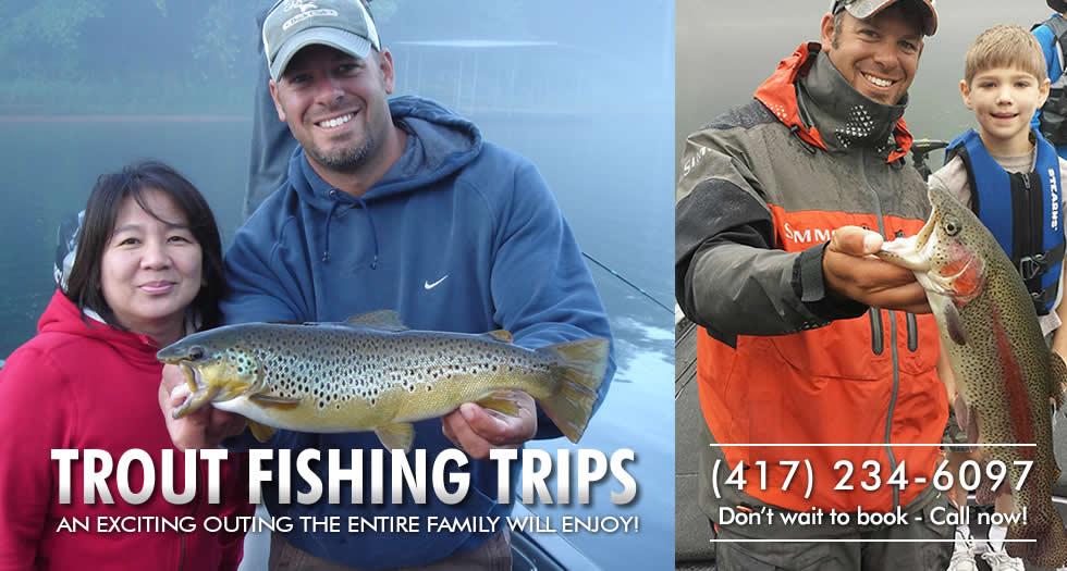 Trout Fishing on Lake Taneycomo in Branson, MO